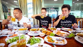 Spiciest THAI FOOD - Extreme Hot Curry + BEER SNOW in Bangkok, Thailand!