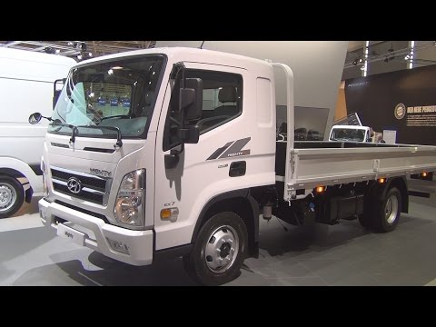 Hyundai Mighty Gold 4x2 Cargo Truck (2017) Exterior and Interior in 3D