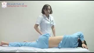 Khám bệnh nhân lách to   BS Trần Thị Mỹ Dung