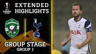 Ludogorets vs. Tottenham: Extended Highlights   UCL on CBS Sports