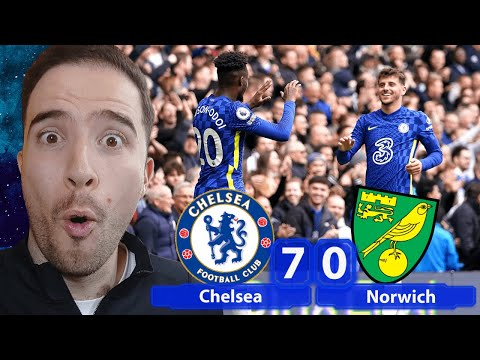FLAWLESS Performance! Cobham Inc DESTROY Norwich! | Chelsea 7-0 Norwich City