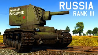 War Thunder: Russian ground forces Tier III - Review and Analysis