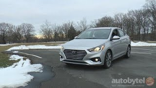 2018 Hyundai Accent Limited Test Drive Video Review