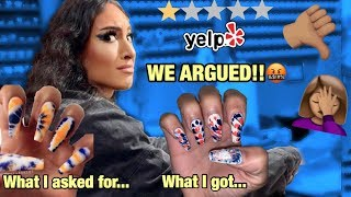 I WENT TO THE WORST REVIEWED NAIL SALON IN TEXAS PART 6