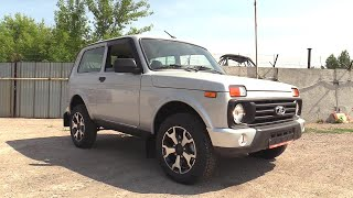 2020 LADA 4x4 Urban Luxe. Start Up, Engine, and In Depth Tour.