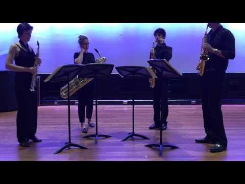 Florent Schmitt   Quatour pour Saxophones   Movements III and IV