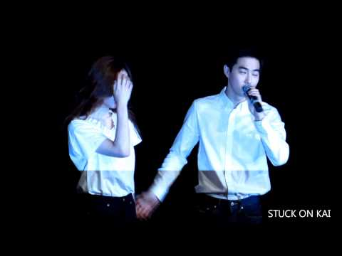 150824 SM TOWN THE STAGE 수호(SUHO) 영등포 1회차 무대인사