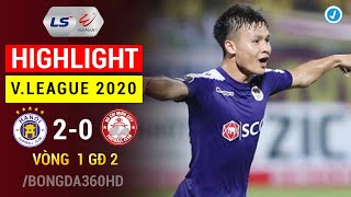 Highlight Hà Nội - Tp Hồ Chí Minh | Vòng 1 GĐ 2 V.League 2020
