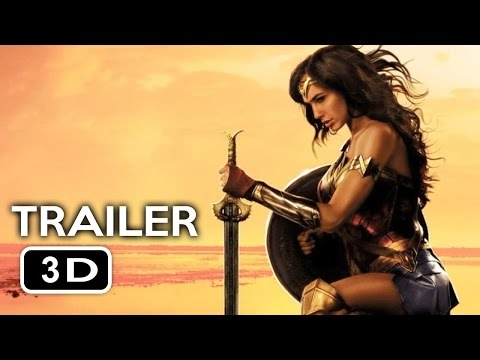 WONDER WOMAN Trailer in 3D 2017 YT3D