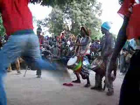 African drums and dance in Senegal