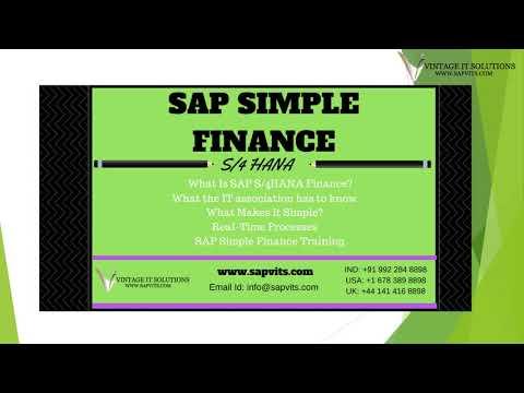 SAP Simple Finance Videos