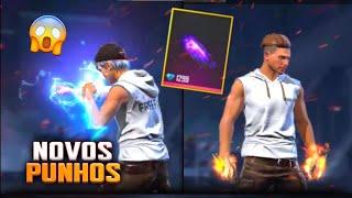 3 NOVOS PUNHOS DO FREE FIRE! #shorts