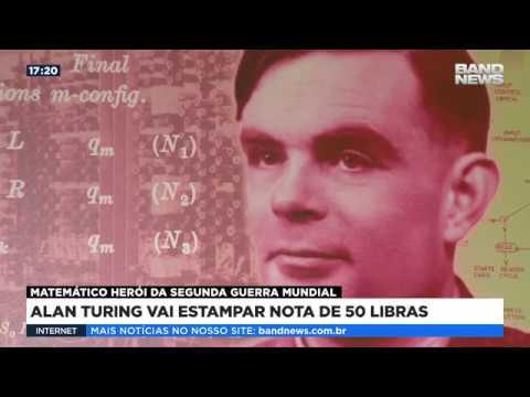 Alan Turing vai estampar nota de 50 libras no Reino Unido