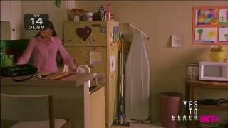 Baby Boy (BET Version)-Jody and Yvette fight full scene