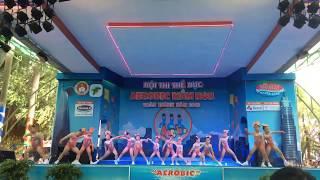 Aerobic Đất Nam - nụ hoa thơm cho đời - aerobic mầm non 2018