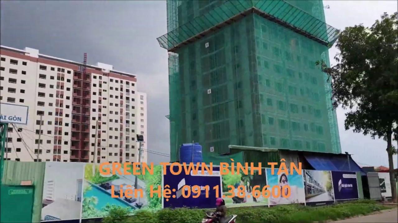Bán căn hộ Green Town Bình Tân ở liền giá gốc cư dân bán, DT 49 - 51 - 53 - 63 - 68 - 70 - 72-91m2 video