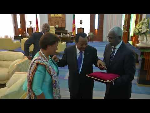 Visite officielle au Cameroun de la Très Honorable Patricia Scotland QC, Secrétaire Générale du Commonwealth