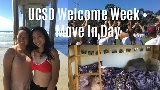 UCSD Welcome Week + Room Tour 2017