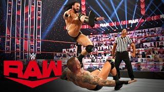 WWE RAW (11/16): Randy Orton Vs. Drew McIntyre – WWE Championship Match
