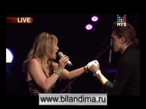 Dima Bilan & Anastacia - Safety (Muz TV 2010)