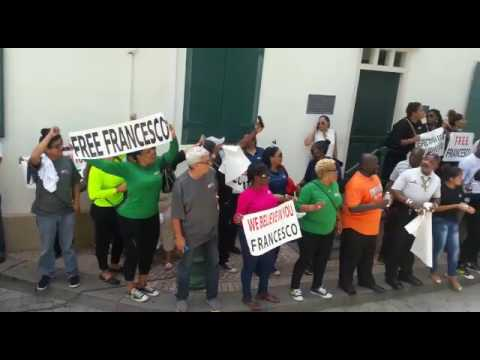 Corallo (Global Starnet) trasferimento all'aula di Giustizia del tribunale di St. Maarten