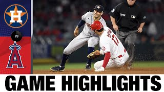 Astros vs. Angels Game Highlights (9/23/21) | MLB Highlights