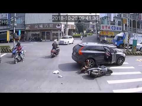 2018 10月(第1+2+3周) OCTOBER 台灣車禍實錄 天雨路滑 行車請小心 车祸 交通事故動画 TAIWAN Cars Accidents Dashcam