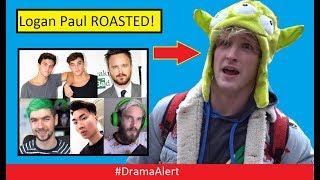 Logan Paul ROASTED by Dolan Twins! #DramaAlert RiceGum,  PewDiePie,  Jacksepticeye & Much More!