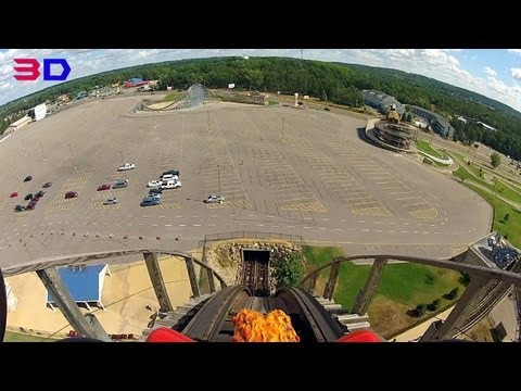 Hades 360 3D front seat on-ride HD POV Mt. Olympus Water & Theme Park