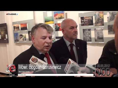 Wizyta Marszałka Senatu Bogdana Borusewicza w Grudziądzu
