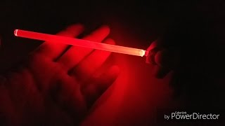 DIY Glow stick