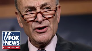 Schumer bashes Trump in presser on William Barr meeting