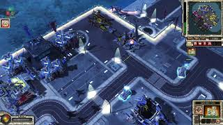 Command & Conquer Red Alert 3 Unprising - Destroy Enemies with Giga Fortress