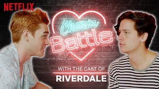 KJ Apa VS Cole Sprouse Charm Battle | Riverdale | Netflix