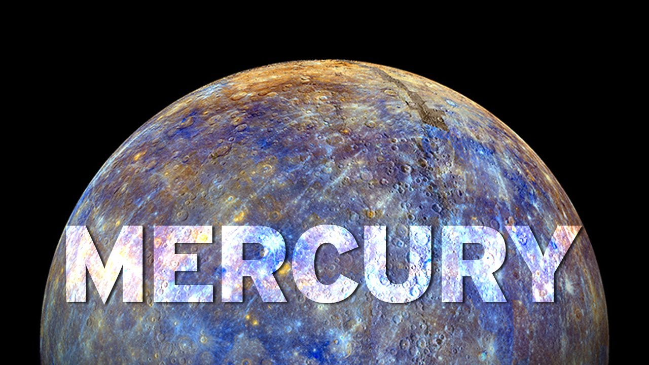 NASA Releases Photos of Mercury's Surface! - YouTube