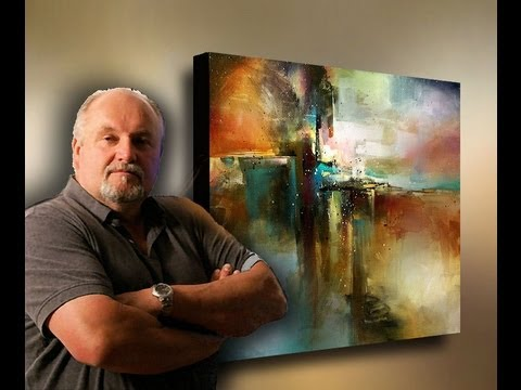 Abstract Painting Bridge To Eternity Demonstration By