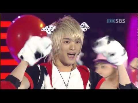 061112 - TVXQ - Balloons live @SBS Love Cocert