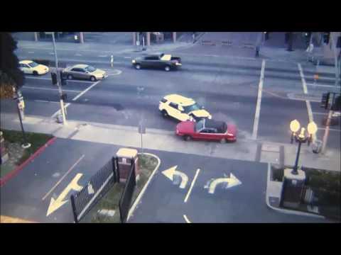 Video surveillance footage of the crash.