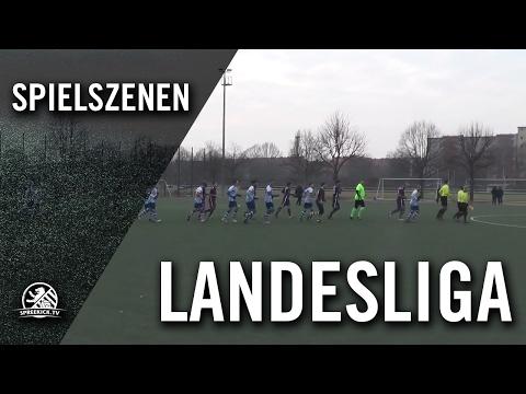 1. FC Schöneberg - SP. Vg. Blau-Weiß 90 Berlin (Testspiel) - Spielszenen | SPREEKICK.TV