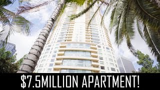 $7.5MILLION LUXURY APARTMENT!