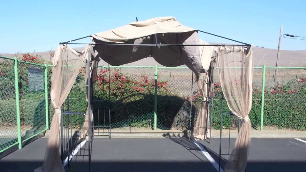 Gazebos: 10x10 Gazebo Replacement Canopy