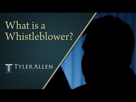 What is a Whistleblower