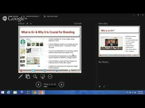How to use Google+ to Drive Up SEO Rank:  Jasmine Sandler for the NYC Women In Communications - 2014