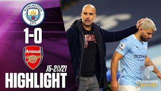 Highlights & Goals   Man City vs. Arsenal 1-0   Telemundo Deportes