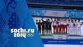 Short Track Speed Skating - Men's 5000m Relay - Russia Win Gold | Sochi 2014 Winter Olympics