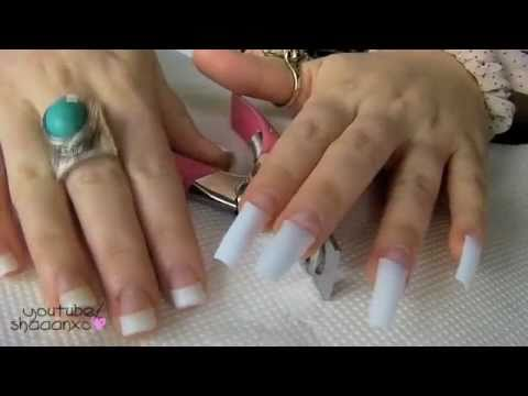 Acrylic nails how to do your own acrylic nails at home - Nail designs do it yourself at home ...