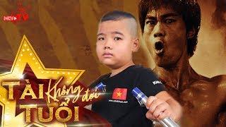 Tài năng nhí múa côn khiến sao Việt phấn khích