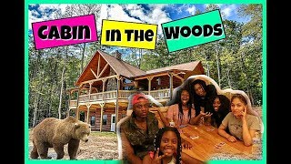 Cabin We In The Woods Ya'll    Family Vlogs   JaVlogs