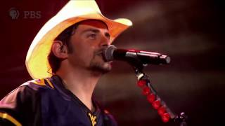 Brad Paisley at WVU's Mountaineer Field | Landmarks Live in Concert | Great Performances on PBS