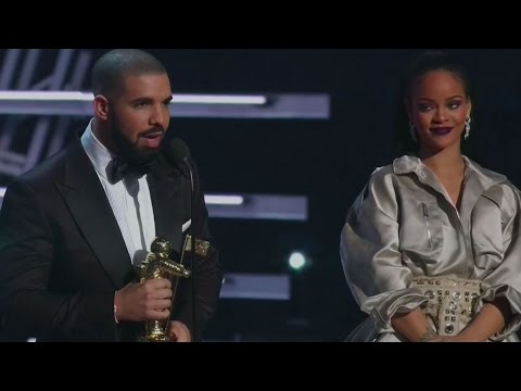 Drake Confesses His Love For Rihanna in VMA Vanguard Award Speech At 2016 MTV VMAs